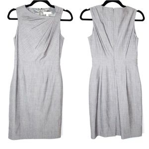 Banana Republic Gray Structured Career Dress